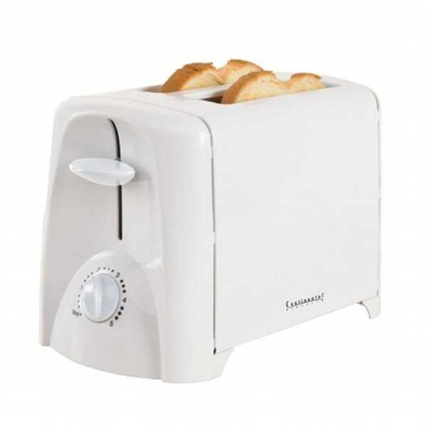 CEM Global CE23401 2 Slice Toaster with Cool Touch End Panels