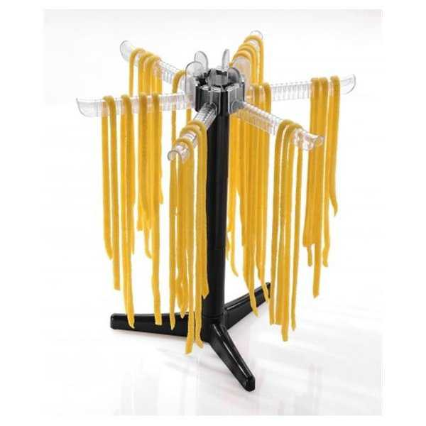 Gefu 28360 Pasta Drying Rack, Black