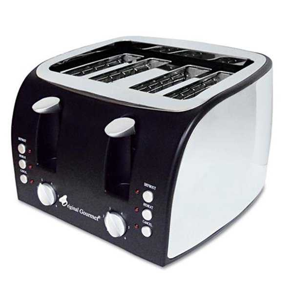 4-Slice Multi-Function Toaster with Adjustable Slot Width,
