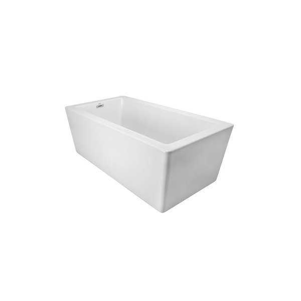 Jacuzzi BIF6636BUXXXXW Bianca 66' Soaking Freestanding Bathtub with Seamless Luxetech™ Finishing - White - N/A