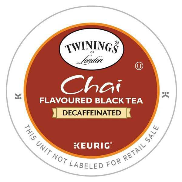 Twinings of London Decaf Chai Tea K-Cup 24 Count